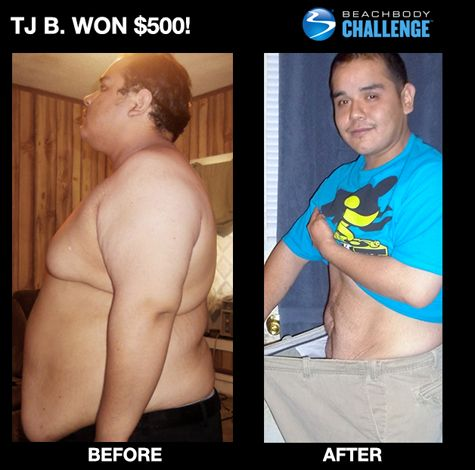 105 pounds lost with Shakeology and Insanity. Check out other Shakeology results & reviews here: http://www.tipstoloseweightblog.com/weight-loss/compare-challenge-packs #ShakeologyResults