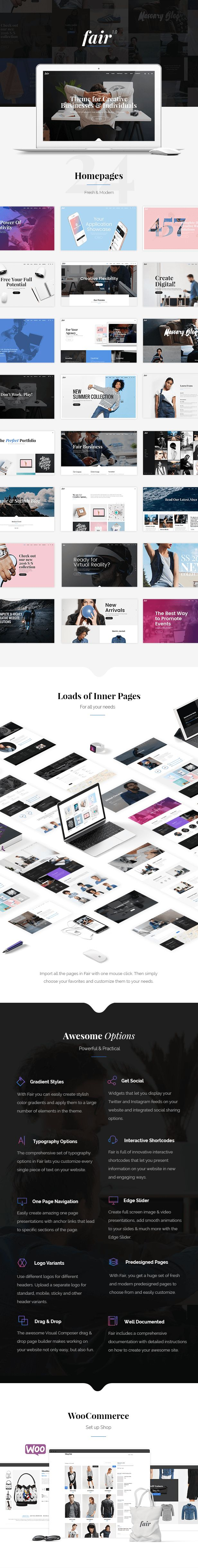 A Fresh Multipurpose Theme for Creative Businesses & Individuals - Modern web design - themes