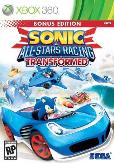 Sonic & All-Stars Racing Transformed - 10+ - PS3, X360, 3DS, Wii U