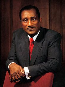 John Harold Johnson (January 19, 1918 – August 8, 2005) was an American businessman and publisher. He was the founder of the Johnson Publishing Company. In 1982, he became the first African-American to appear on the Forbes 400.