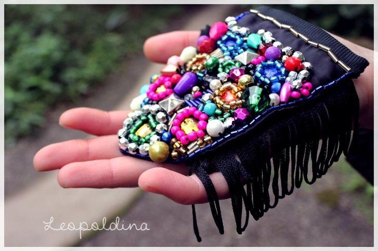 Charretera bordada de Leopoldina Diseños #Tucumàn-Argentina