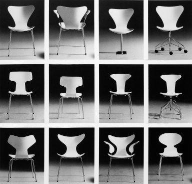 Ant Chair Arne Jacobsen (Danish furniture designer, 1902-1971) Denmark 1952