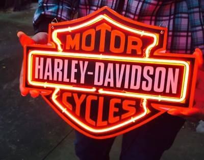 SPORT DAVIDSON HD BIKE KTM SHOEI POSTER NEON LIGHT SIGN 10X9 FOR HARLEY STORE1  Country|Region of Manufacture - China