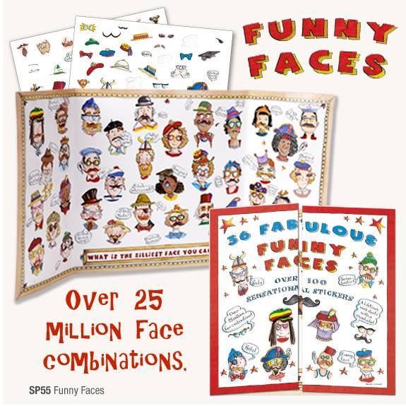 SP55 - Funny Faces