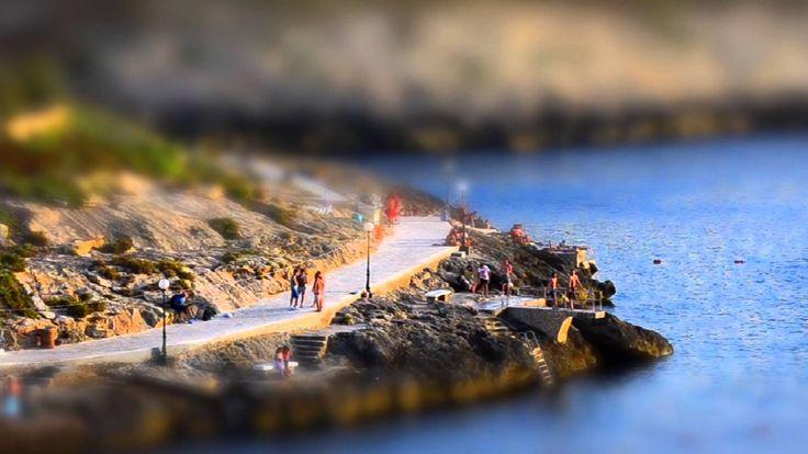 Miniature Malta - Tilt Shift