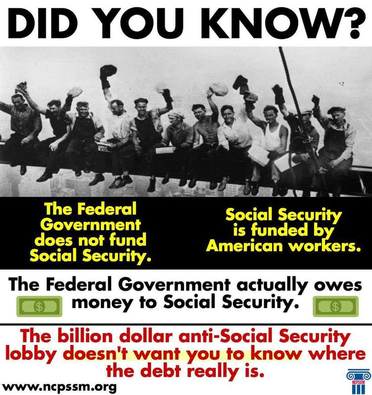 The Federal Government does not fund Social Security. Social Security is funded by American workers. The Federal government actually own money to Social Security.
