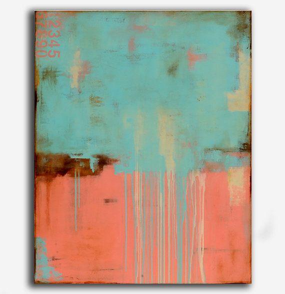 Acrylic Abstract painting Original 36x48 Art von erinashleyart