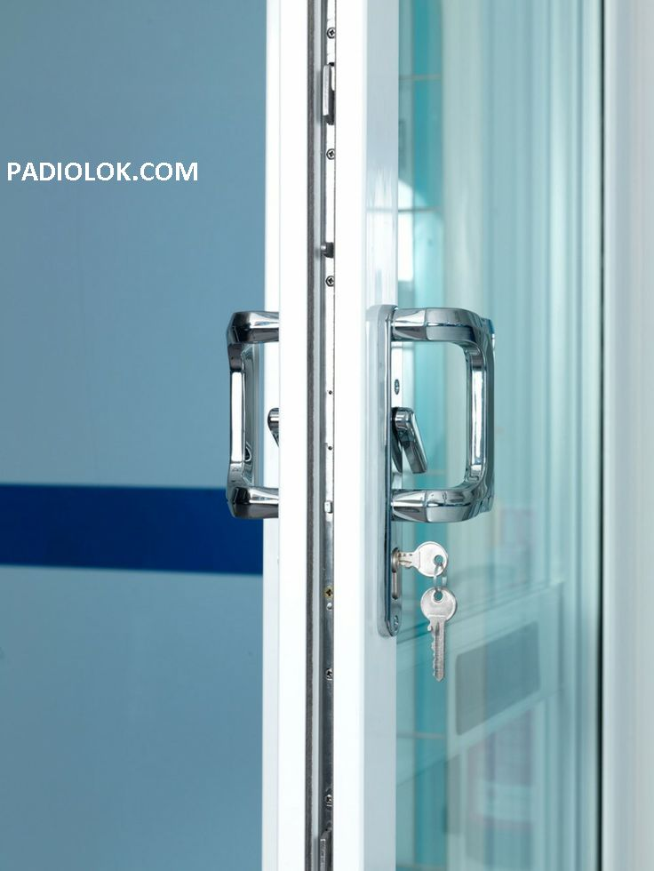 17 Best Patio Door Lock Images On Pinterest Sliding Patio Doors
