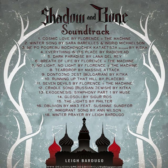 Book Club Ideas for: Shadow and Bone soundtrack