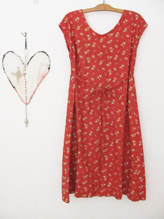 a dottie angel original frock ... jolly nice red by dottieangel
