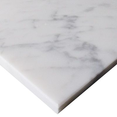 Carrara White Italian Marble 36 X 36 Tile Polished Carrera Marble Carrara Bianco Carrara