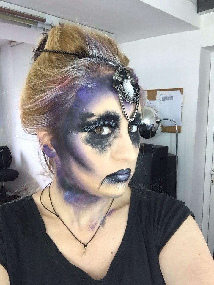 Gothic victorian makeup