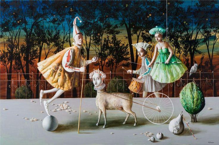 Vahram Davtian, The Illusionists, 2010, Art from Armenia