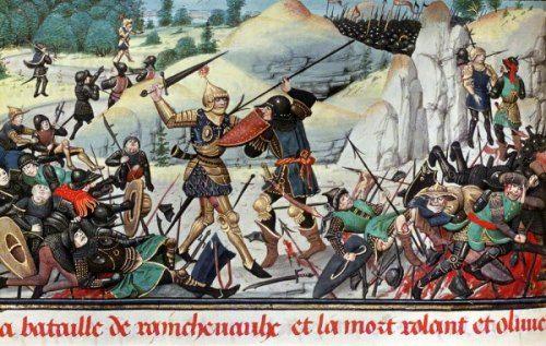 Mort de Roland à Roncevaux en 778 :  entre histoire et légende