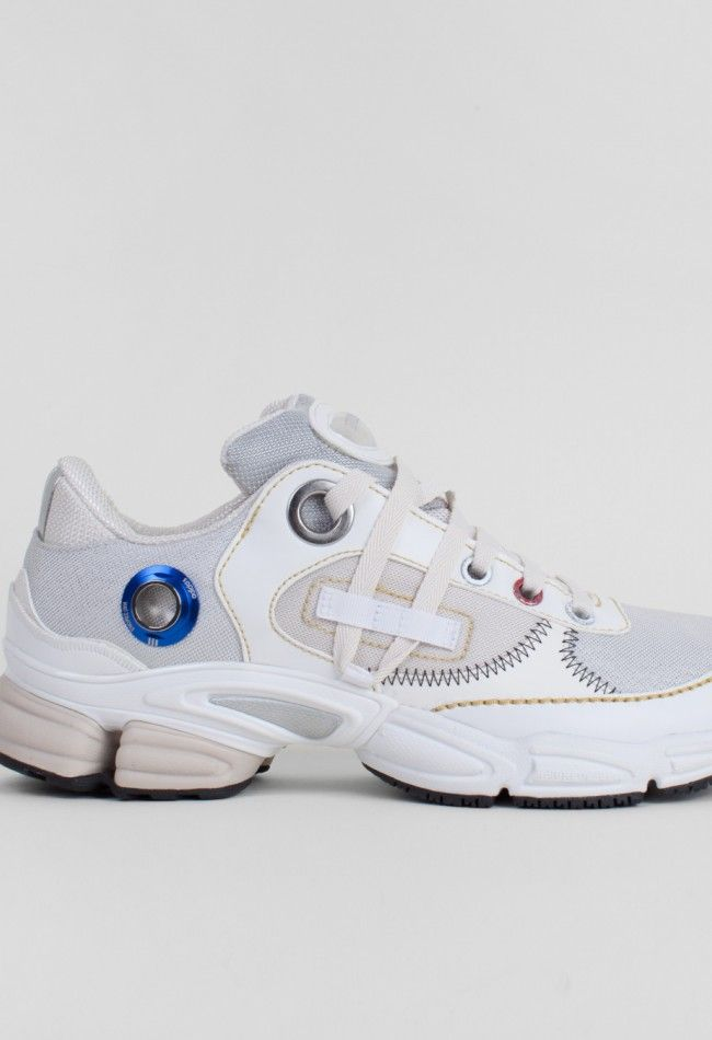 Adidas x Raf Simons Ozweego Robot Zero Metallic/Off White – Voo Store