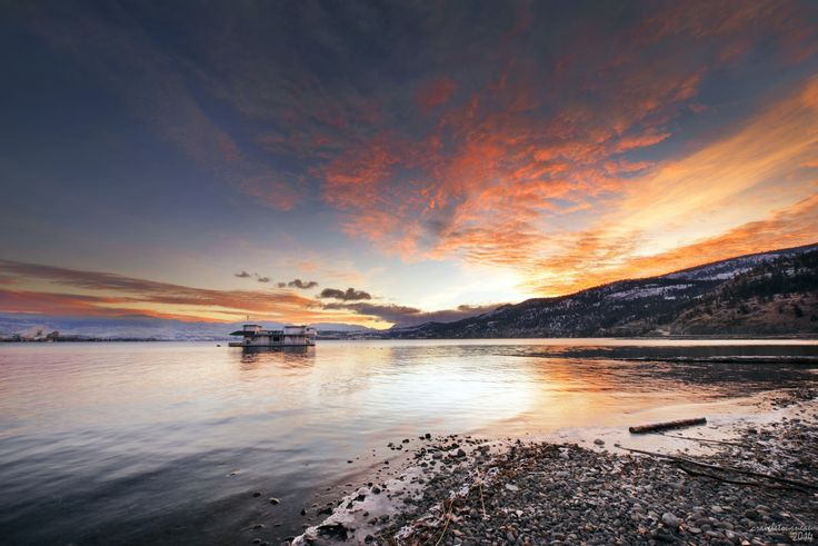 Okanagan Lake... by Craig Letourneau on 500px