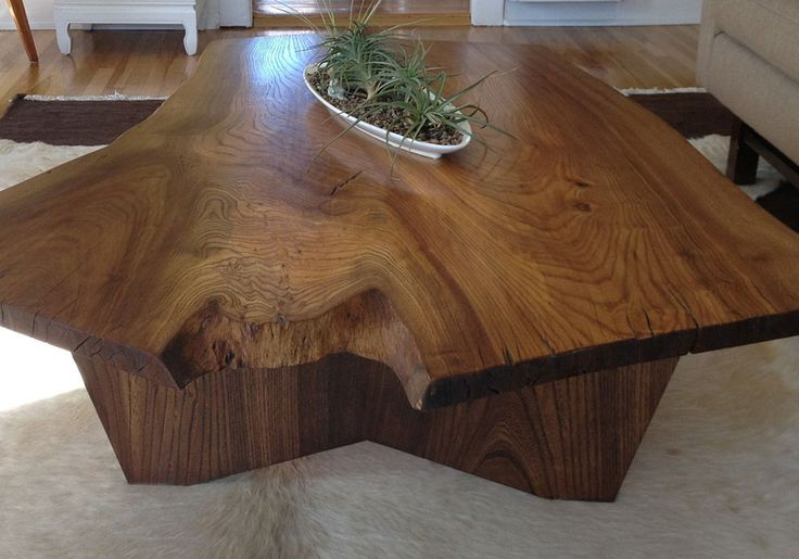 52 best Slab Wood Coffee Tables images on Pinterest