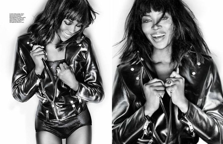 Naomi Campbell, Harper's Bazaar Singapore, Photo by Gan, January 2014.