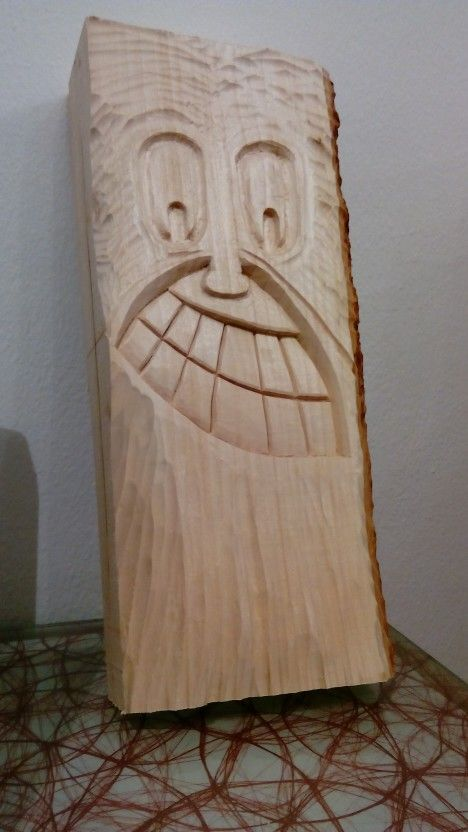 Woodcarving face