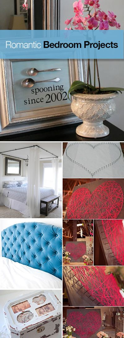 Romantic Bedroom Projects • Tutorials and projects for creating a romantic bedroom!