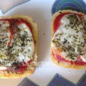 Pizza di pane / ricetta de La cucina di Ema