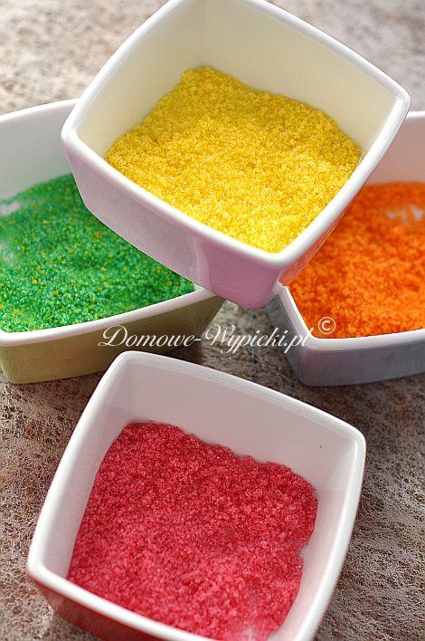 Kolorowy cukier