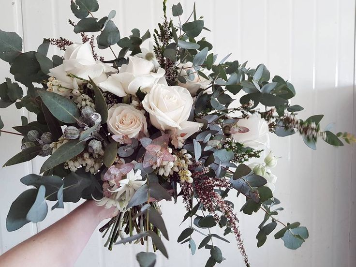 "91 Likes, 10 Comments - Jasmine (@as_sweet_as_jasmine) on Instagram: ""Textural white and wild bridal bouquet 😍😍😍 @angelic_events @newcastleflowermarkets…"""