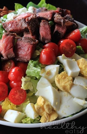 Ribeye Steak Salad with Balsamic Vinaigrette