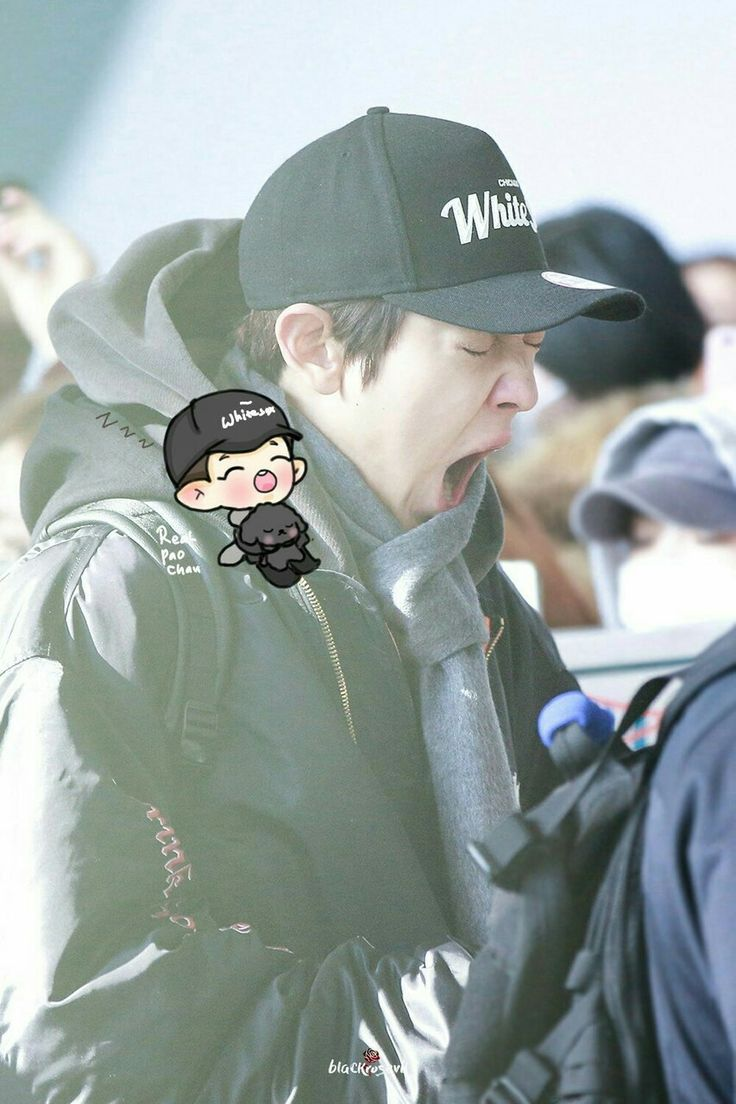 161129 Gimpo Airport departing for Tokyo #Chanyeol #찬열 #fanart #EXO