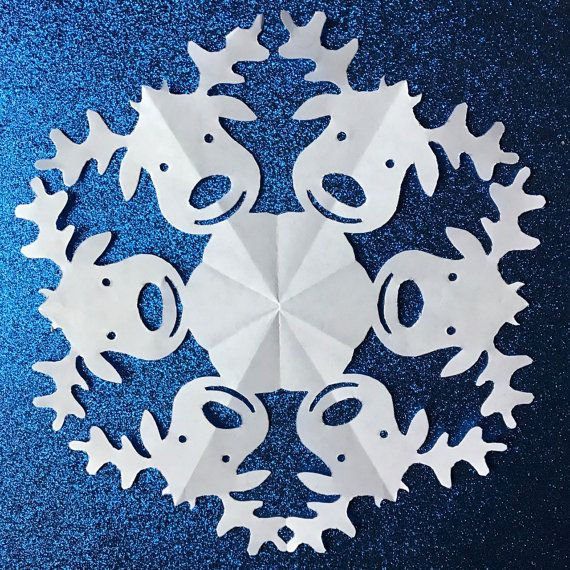 The 25 Best Paper Snowflakes Ideas On Pinterest 3d