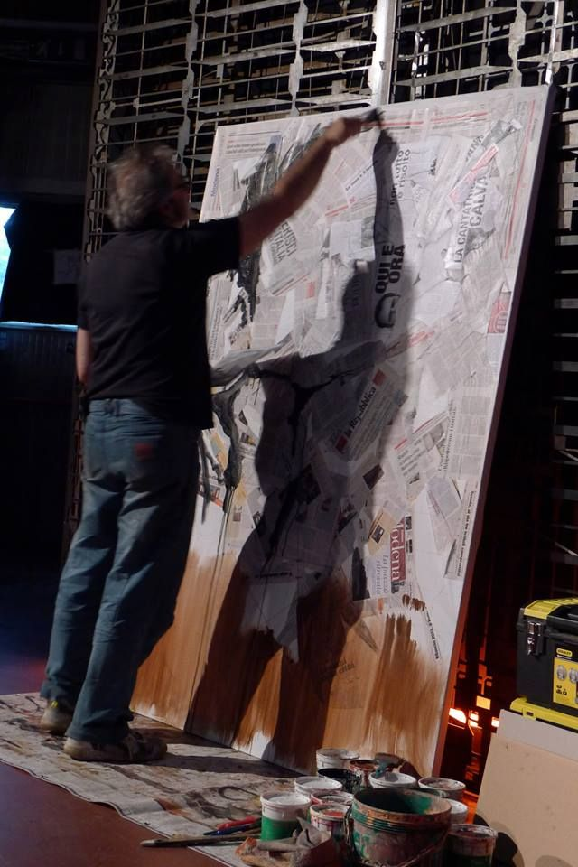 """Presentazione del libro di Giovanni Tizian """"LA NOSTRA GUERRA NON E' MAI FINITA"""". #arte #quadri #art #paintings #francori #modena #musica #music  Visita il mio sito: www.francori.it"""