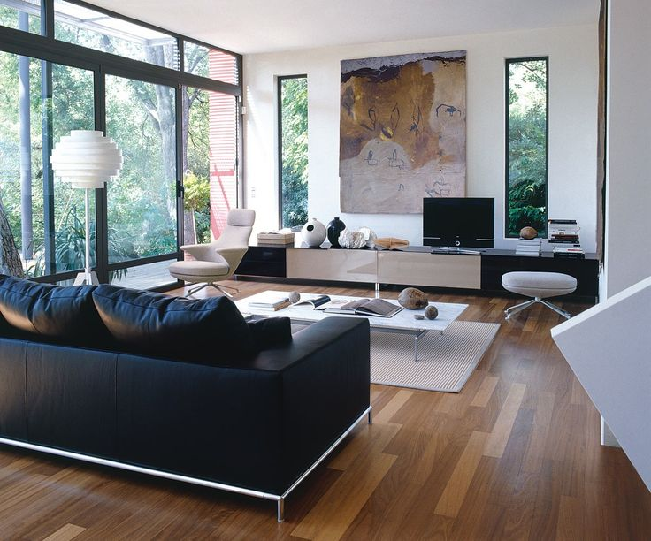 Living Room White Living Room Design Architecture A Natural Modern House  Designs Luxurious Black White Living Room Design With Painting Creating  Fresh ...