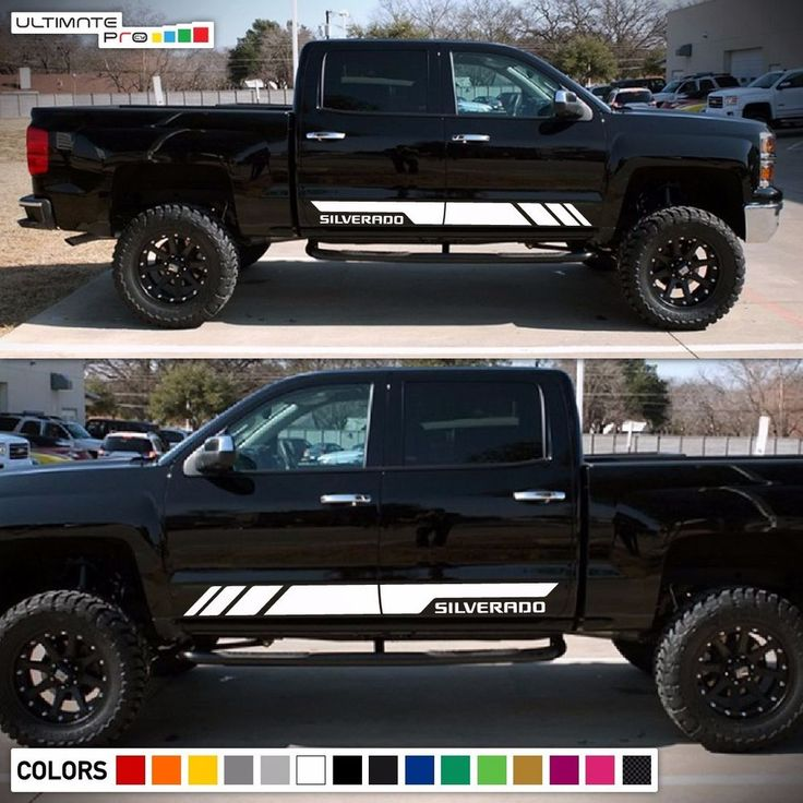 57 best Decals For Chevrolet Silverado images on Pinterest