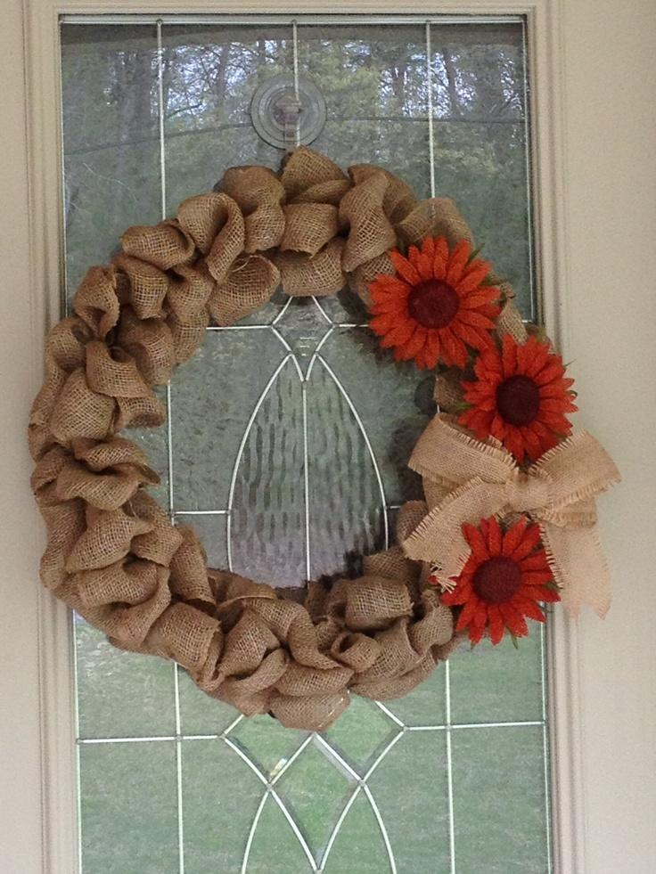 Summer wreath 78 best Wreath Burlap