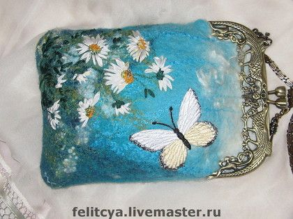 Felted Purse by larissa Trofimova