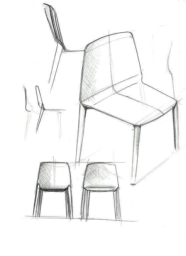 27 best images about interior sketch on pinterest for Boceto muebles