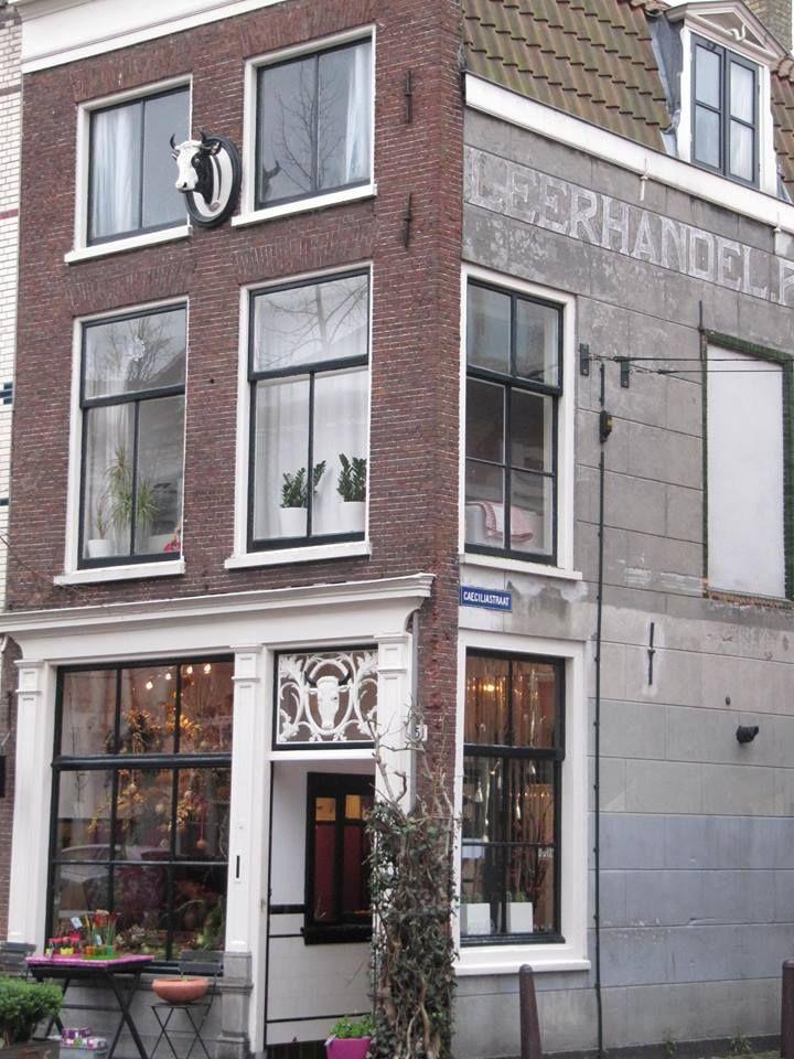 Leuk winkelpandje in Leiden