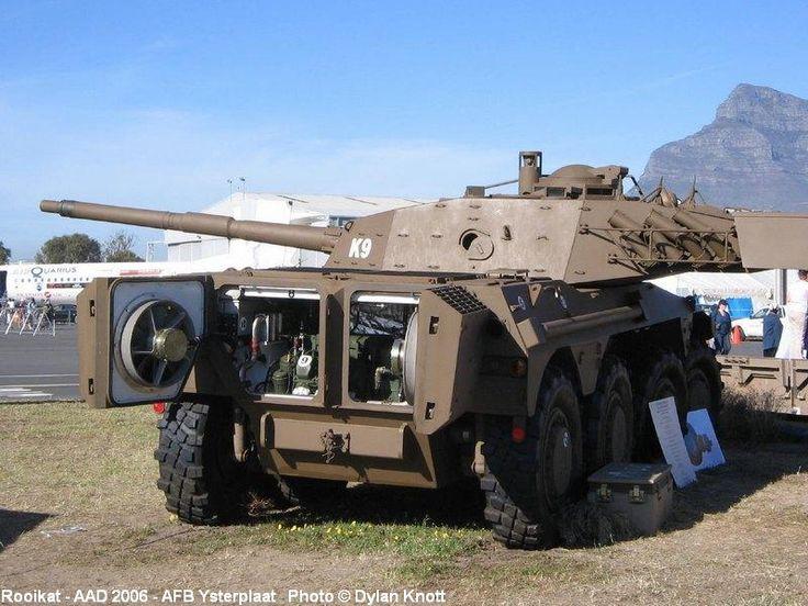 Rooikat - южноафриканская боевая разведывательная машина, часто классифицируемая также как истребитель танков.