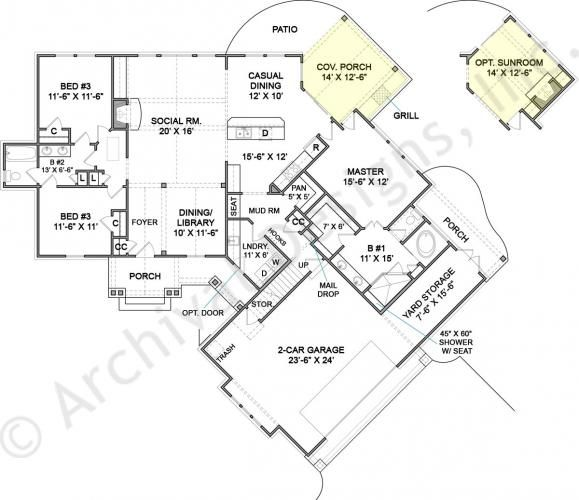 41 best klippel residential designs images on pinterest for Lucky 4 ranch floor plan