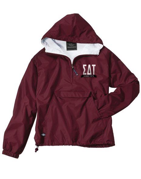 sigma delta tau letters windbreaker jacket by adam block With windbreaker greek letters