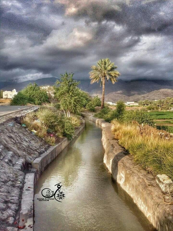 Beautiful Falaj Daris -Nizwa City - Oman | I love Oman in ...
