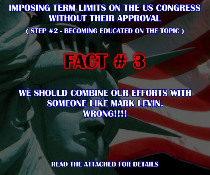 Imposing Term Limits On The US Congress Without Their Approval