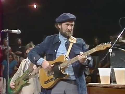 Telecaster master ROY BUCHANAN - ROY'S BLUZ  (LIVE 1976, Austin City Limits).  Starting about 5:40 the man is playing with only his left hand, better than most guitarists play with two!