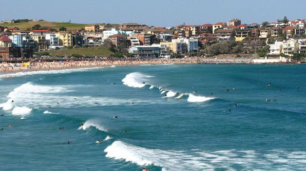 One of Australia's most famous beaches is also a top destination for surfers. The white sands of Bondi Beach not only provide top-notch surf, but also plenty of restaurants and shops for when the waves have you worn out.
