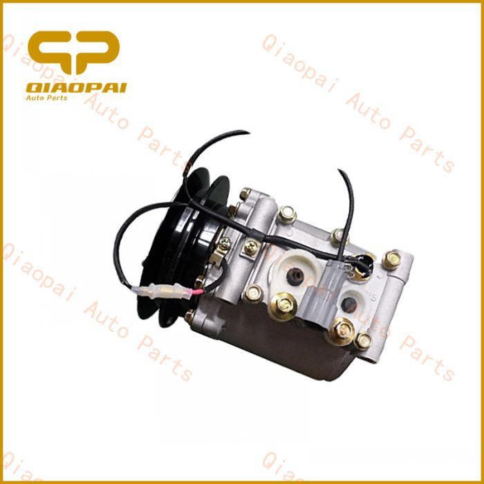 24V clutch 1PK Auto AC Scroll Compressor for Japanese parts
