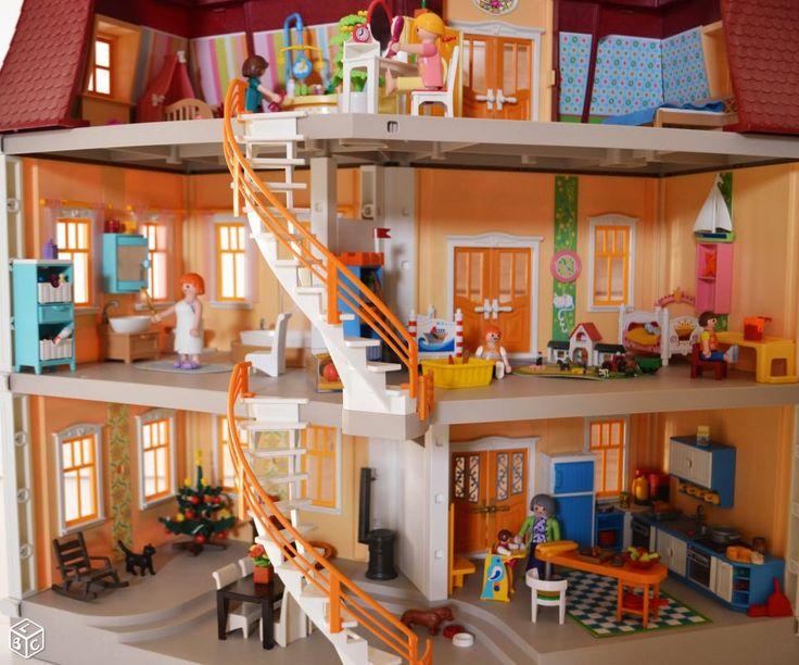 Maison de ville PLAYMOBIL 5302 + sonnette +meublée Jeux & Jouets Bouches-du-Rhône - leboncoin.fr