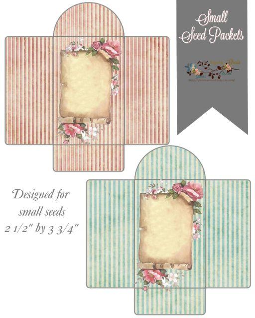 glenda's World : Small Seed Packets / Envelopes (free)