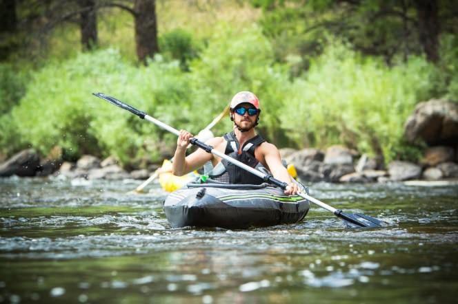 Coleman Quikpak K5 inflatable kayak