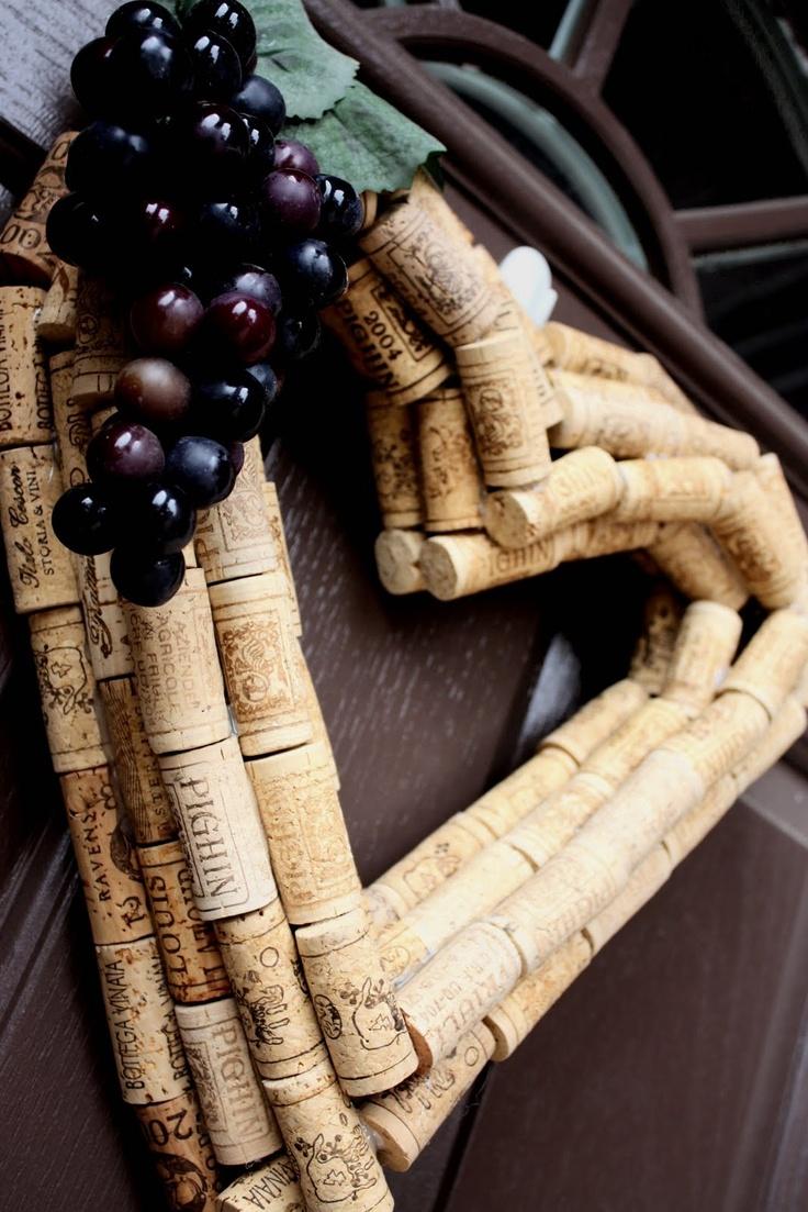 M 225 s de 1000 ideas sobre corona de corchos de vino en pinterest