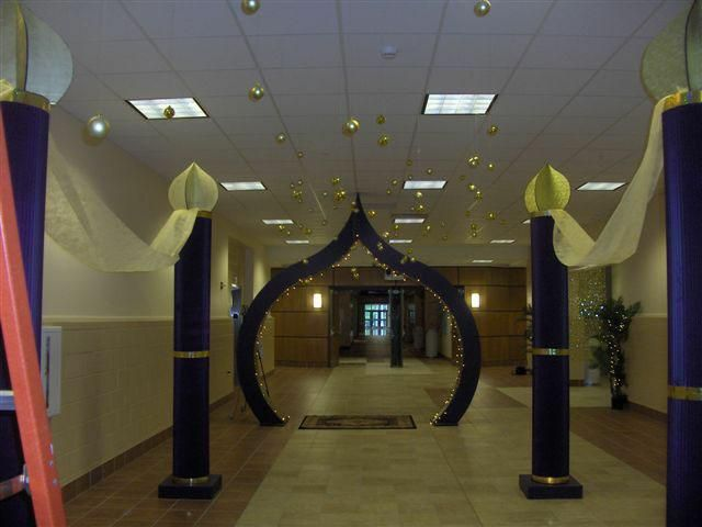 arabian decorations | Here are some photos that were forwarded to me today of the completed ...